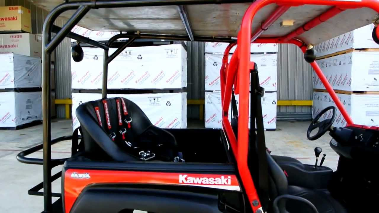 Kawasaki Teryx 750 4x4 Fi With Extended Cage And Rear