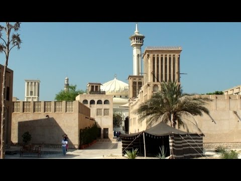 Dubaj – Dubai –  دبي‎‎ – Al Bastakiya – Bastakia Quarter – White Mosque – ZEA