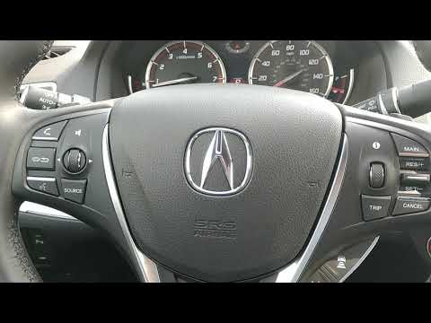 Electronic parking break for the 2018 Acura TLX. MS