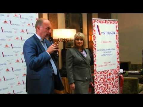 Visit Russia открытие офиса туризма в Берлине
