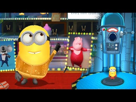 despicable-me-2---minion-rush-:-leotard-with-new-costume-in-special-mission-piggy-power-!