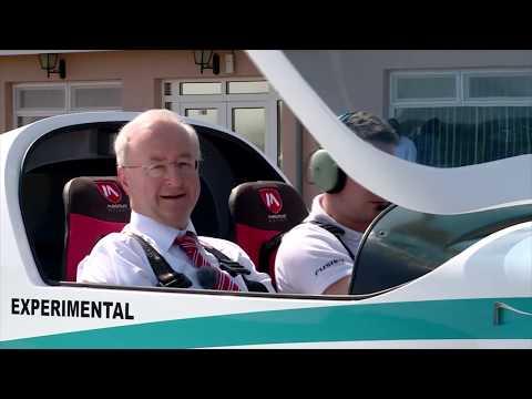 Rolls-Royce   E-plane 'eFusion' takes off