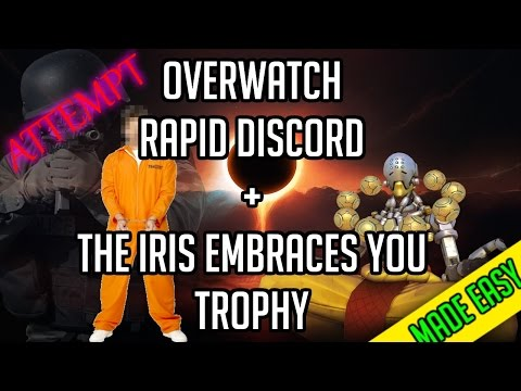OVERWATCH: Rapid Discord + The Iris Embraces You Trophy/Achievement [MADE EASY] (ATTEMPT)