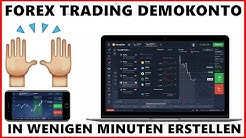 Forex Trading Demokonto [TUTORIAL] in wenigen Minuten erstellen!