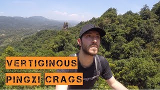 VERTIGINOUS HIKE OF TAIWAN PINGXI CRAGS