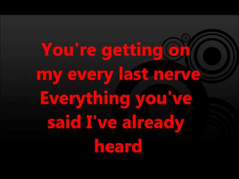 Green Day-Let Yourself Go (Lyrics Video) [STUDIO VERSION]