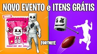 FORTNITE-MARSHMELLO EVENT and NEW FREE ITEMS?