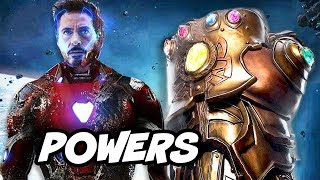 Avengers Infinity War Infinity Gauntlet Trailer - Thanos Uses The Infinity Stones