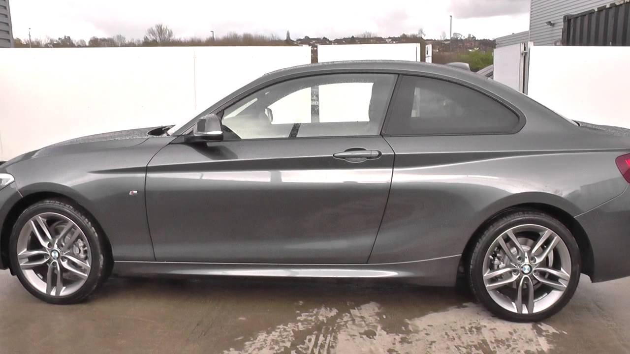 bmw 2 series 218i m sport 2dr nav u24345 youtube. Black Bedroom Furniture Sets. Home Design Ideas