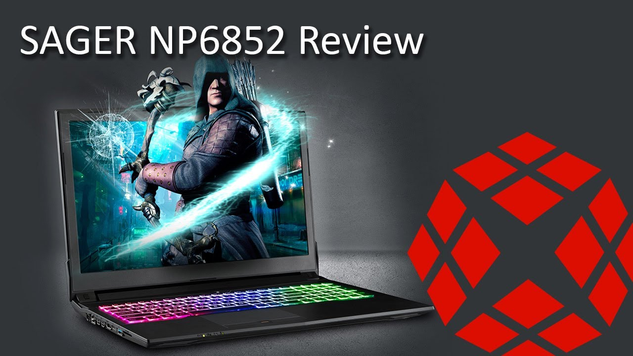 Sager NP6852 i7-7700HQ/GTX 1050Ti - Review