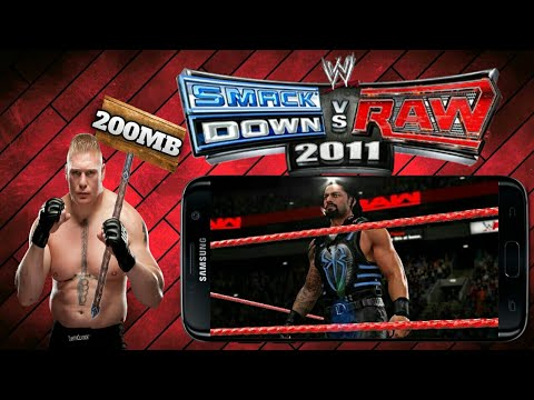WWE 2K11 200 Mb Highly compressed Game for Android--PSP - 동영상