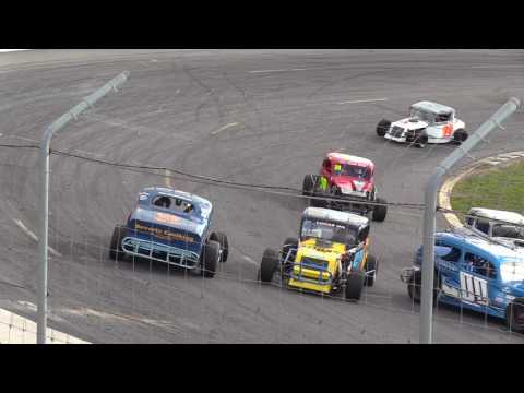 Sunset Speedway Canadian Vintage Modifieds, May 27, 2017