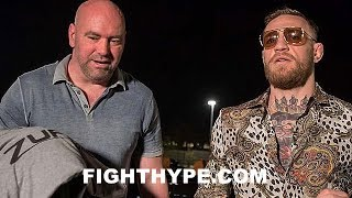 DANA WHITE SOUNDS OFF ON MCGREGOR-MALIGNAGGI SPARRING CLIPS; EXPLAINS WHY HE RELEASED THEM