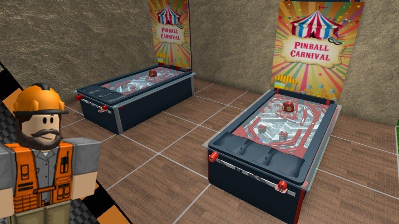 Roblox Bloxburg Pinball Machine Tutorial Idea For Bloxburg