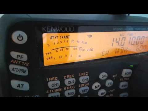 D67GIA - Comoros - 14.010 Mhz CW