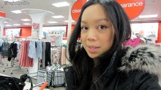 Target Clearance! - January 03, 2013 - Itsjudyslife Vlogs