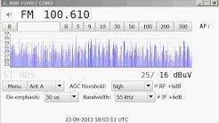 (Tropo) 100,6 MHz  Antenne Bayern