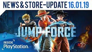 Jump Force Open Beta startet diese Woche! | Inside PlayStation News & Store Update