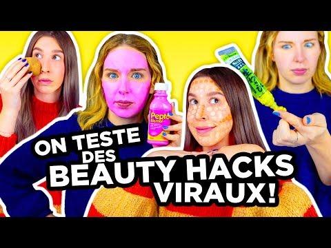ON TESTE DES BEAUTY HACKS VIRAUX!   2e peau