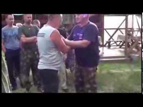 Шокирующие  удары . Русский стиль - система рукопашного боя . А.А.Соловьёв .