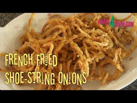 how to cook with fried onion