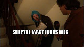 Slijptol jaagt junks weg uit Haagse flat