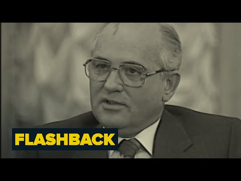 Brokaw Details Interview With Gorbachev | Flashback | NBC News