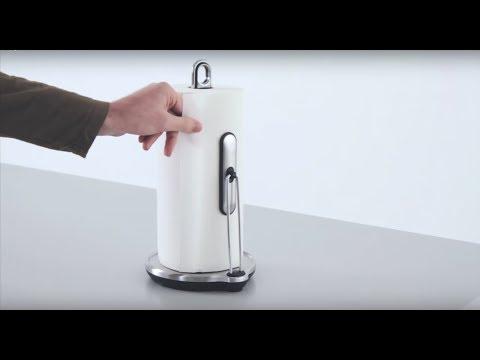 simplehuman steel tension arm paper towel holder & dispenser