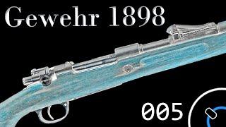 """How it Works: German Gewehr 1898 """"Mauser"""""""