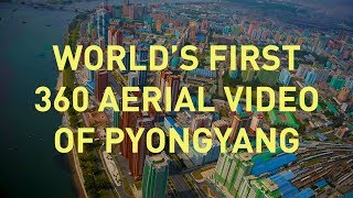 World's First Aerial 360 Video Over North Korea 2017 thumbnail