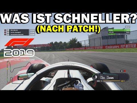 ABS & TCS FAHRHILFEN VERGLEICH   F1 2019 Fahrhilfen AUSSCHALTEN (TEST)