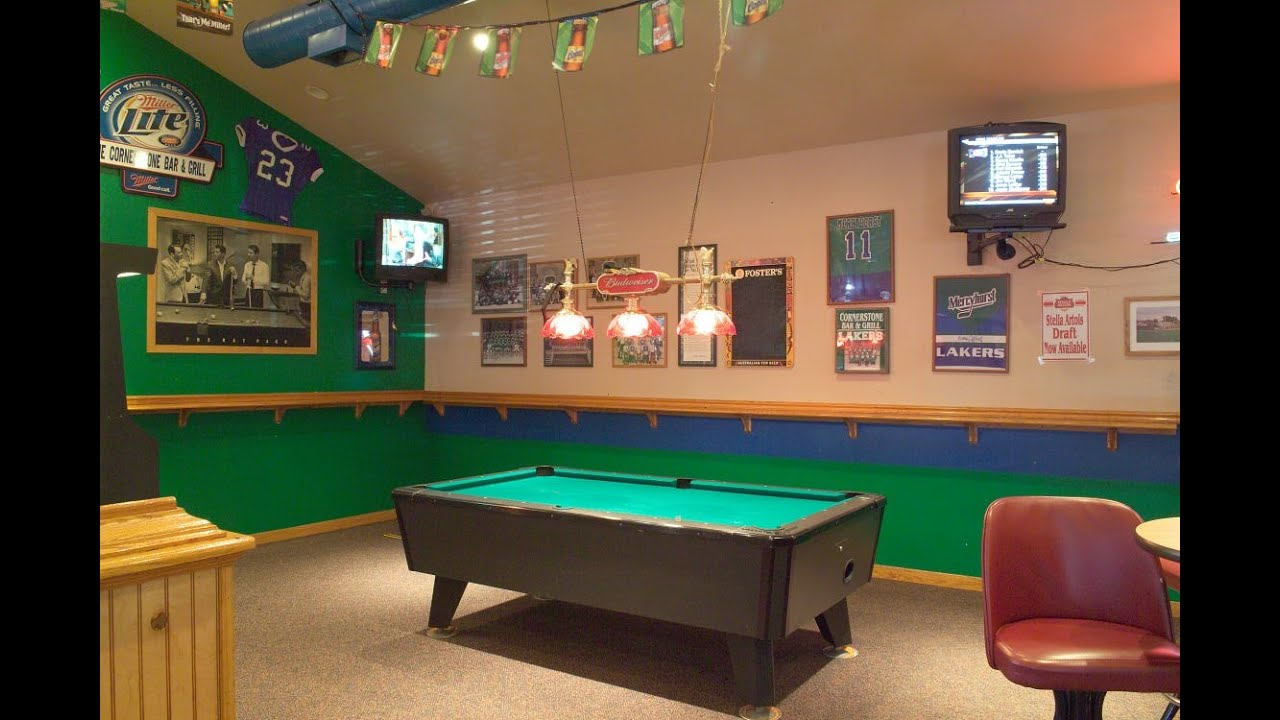 pool table light - YouTube