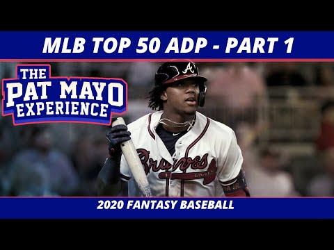 2020 Fantasy Baseball Rankings — Top 20 Overall Player Rankings, Average Draft Position
