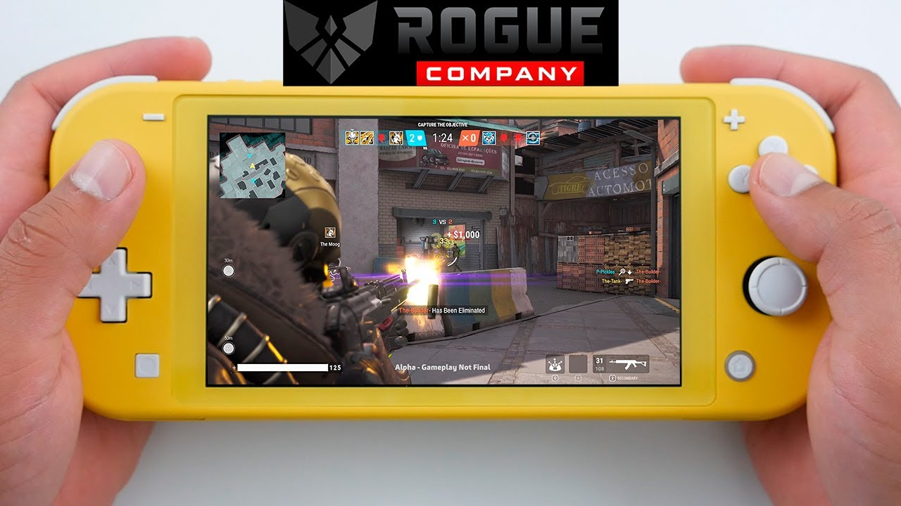 Rogue Company Nintendo Switch LITE Gameplay