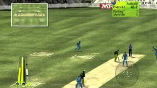 Brian Lara international Cricket 2007( PC Gameplay ) - India Vs Australia Part - 1