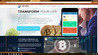 USI TECH Bitcoin Investment, Earn 140% with This Profitable Company