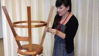 Graco Classic Wood Highchair Repair Kit Installation Instructions