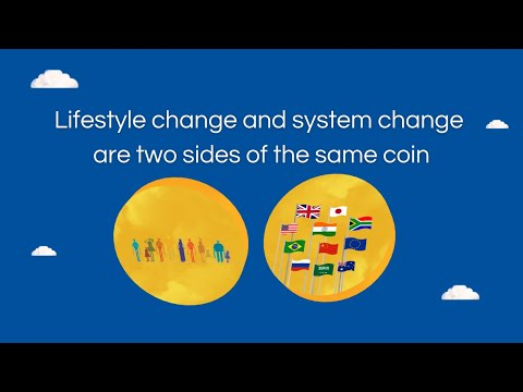 Lifestyle change and system change are two sides of the same coin - UNEP Emissions Gap report