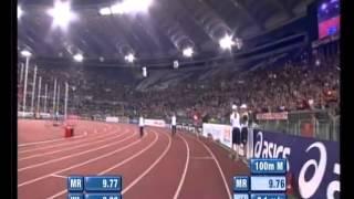 Usain Bolt Golden Gala Rome 9.76 2012.avi