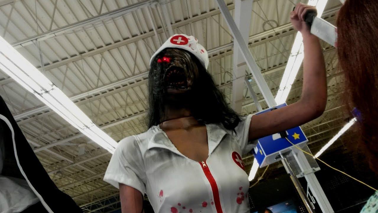 f734f7e0e4be2 Faceless Nurse | Halloween 2018 - YouTube