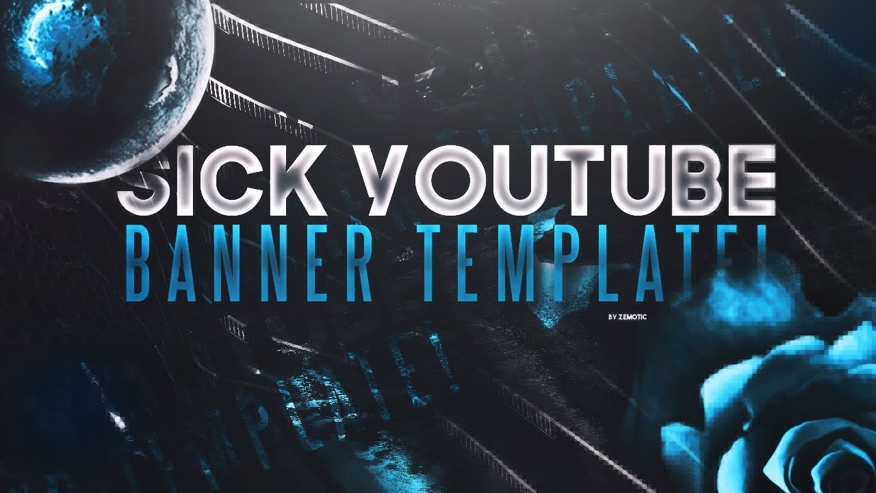Youtube banner template sick! (executioner).