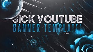 Sick YouTube Banner Template! (Any Colour)
