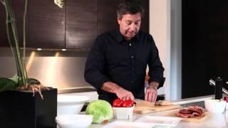 John Torode and the perfect Club Sandwich
