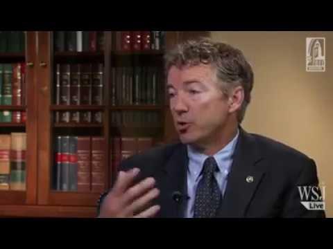 Rand Paul Explains Libertarianism