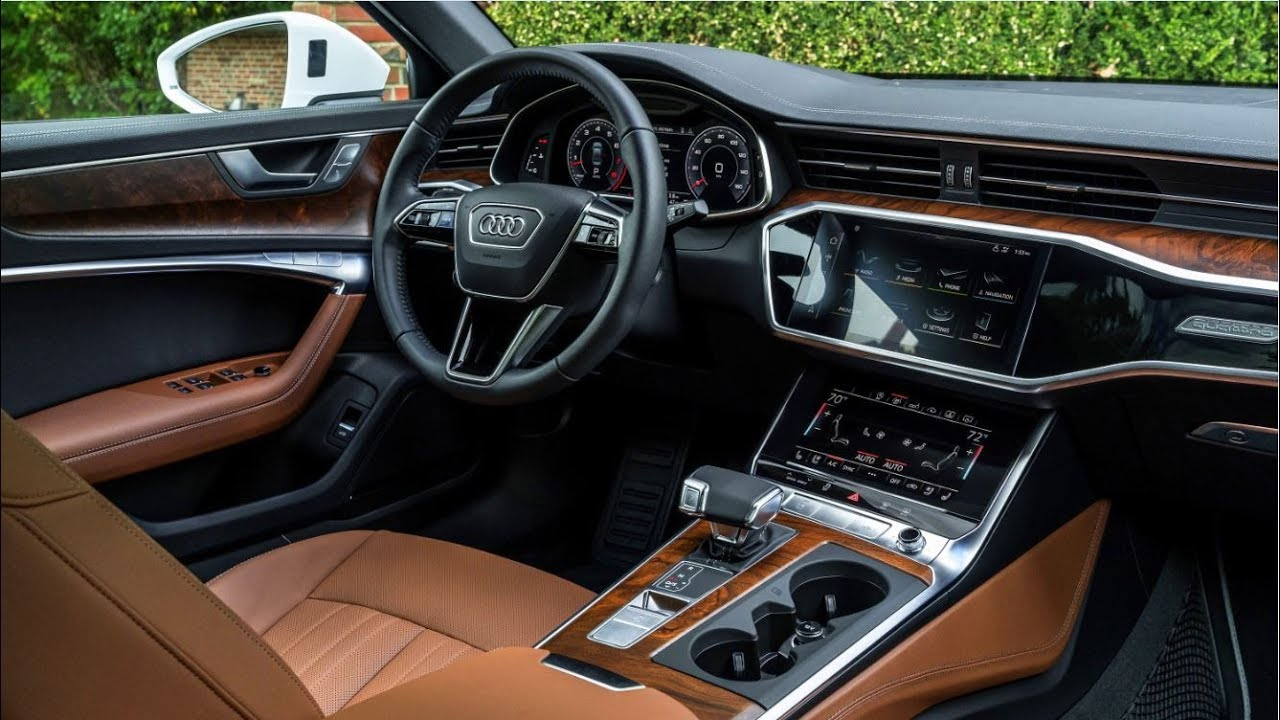 2019 audi a6 interior youtube. Black Bedroom Furniture Sets. Home Design Ideas