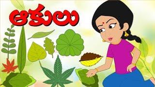 ఆకులు | Types Of Leaves | Telugu Moral Stories For Children | Edtelugu