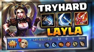 Jin Full Focus Layla (Adc) Oynarsa   Try Hard Carry Mobile Legends Bang Bang