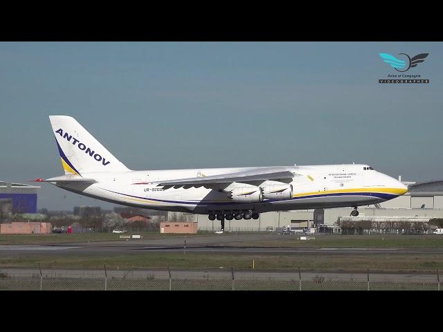 Landing  @antonov 124 UR 82009