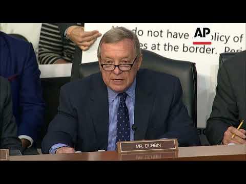 Senator Dick Durbin Seeks Nielsen Resignation