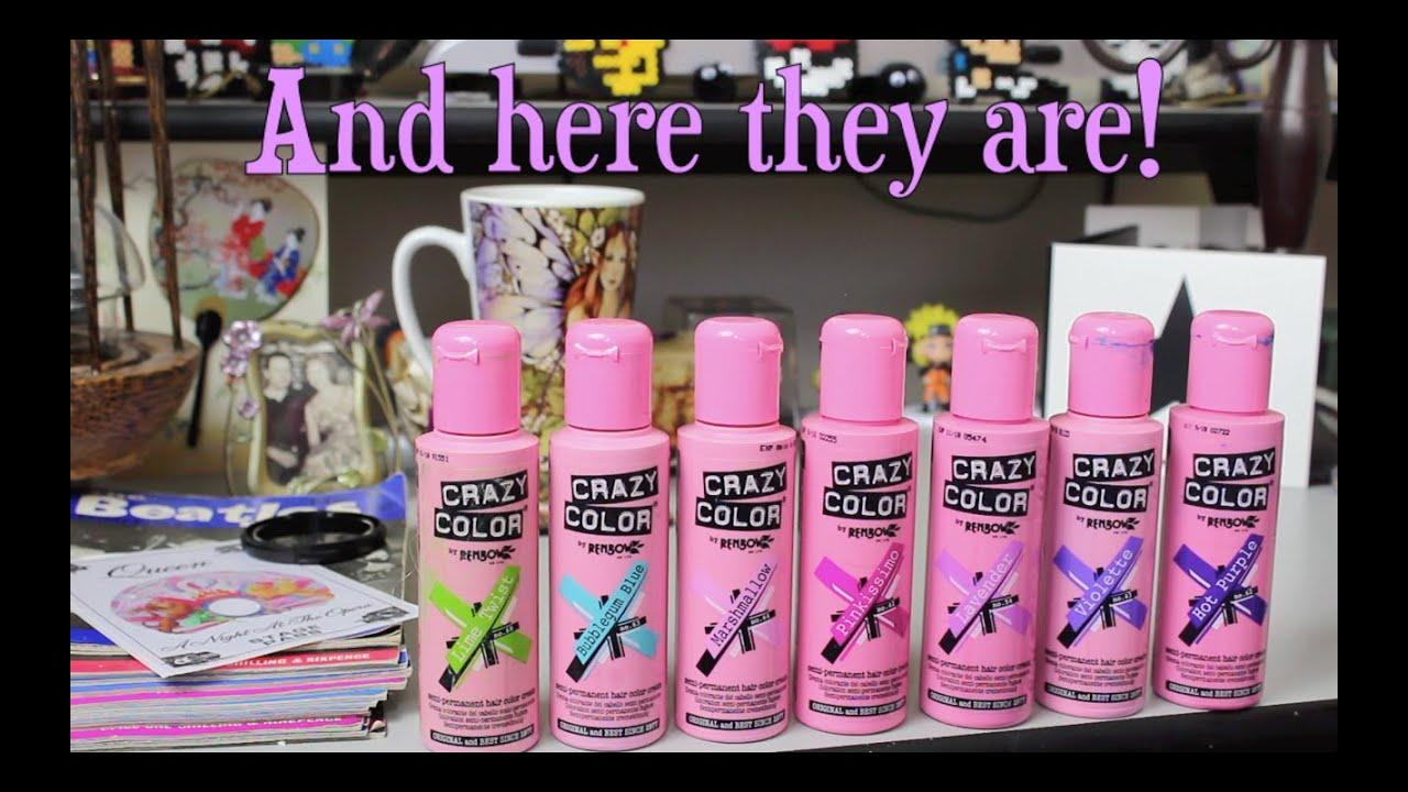Diy Hair Colour Testing Crazy Color Final Ranking Youtube